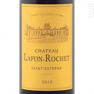 Château Lafon-Rochet - Château Lafon-Rochet - 2010 - Rouge