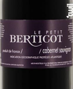 Petit Berticot Cabernet Sauvignon - Berticot - 2016 - Rouge
