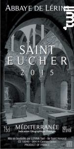 Saint-Eucher - Abbaye de Lérins - 2015 - Rouge