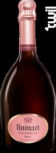 Brut Rosé - Ruinart - Non millésimé - Effervescent