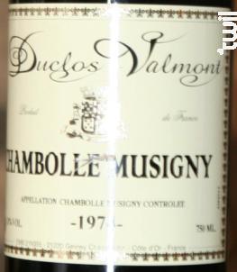 Domaine Duclos Valmont - Domaine Duclos Valmont - 1974 - Rouge