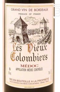 Les Vieux Colombiers - Vignerons d'Uni-Médoc - 2015 - Rouge