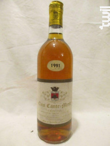 Clos Cante-merle - Clos Cante Merle - 1991 - Blanc