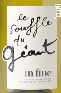 In Fine - Souffle du Géant - Caravinserail - La Maison de Cascavel - 2018 - Blanc
