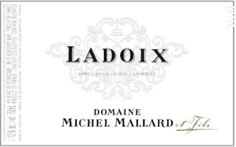 Ladoix - Domaine Michel Mallard et Fils - 2017 - Blanc