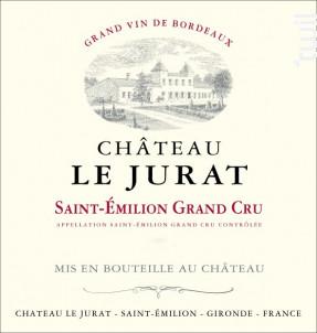 Château Le Jurat - Château Le Jurat - 2014 - Rouge