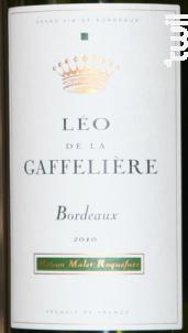 Léo de la Gaffelière Bordeaux - Château La Gaffelière - 2010 - Blanc