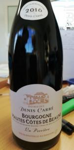 Bourgogne Hautes-Côtes-de-Beaune - Domaine Denis Carré - 2016 - Rouge