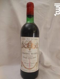 Château Reverdi - Château Reverdi - Vignobles Thomas - 1976 - Rouge