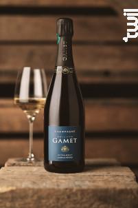 Extra Brut Caractères - Champagne Philippe Gamet - Non millésimé - Effervescent