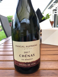 Chenas Vignes de 1939 - Domaine Pascal Aufranc - 2017 - Rouge