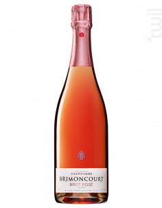 Brut Rosé - Champagne Brimoncourt - Non millésimé - Effervescent