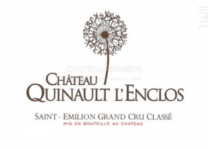 Château Quinault l'Enclos - Château Quinault l'Enclos - 2017 - Rouge