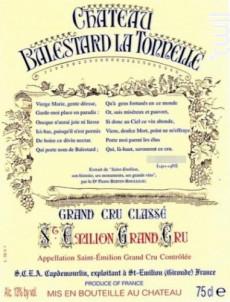 Château Balestard la Tonnelle - Château Balestard la Tonnelle - 2004 - Rouge