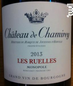 Les Ruelles - Château de Chamirey - 2014 - Rouge