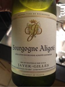 Bourgogne Aligoté - Domaine Gilles Jayer - 1989 - Blanc