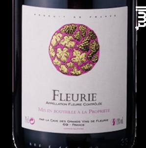 Fleurie - Cave de Fleurie - 2017 - Rouge