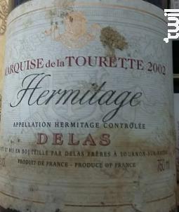 Marquise de la Tourette - Maison Delas - Domaine Des Tourettes - 1999 - Rouge