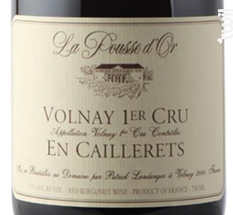 VOLNAY 1er cru En Caillerets - Domaine de la Pousse d'Or - 2015 - Rouge