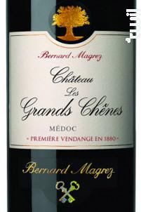 Château les Grands Chênes - Bernard Magrez- Château les Grands Chênes - 2018 - Rouge