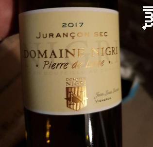 PIERRE DE LUNE - Domaine Nigri - 2017 - Blanc