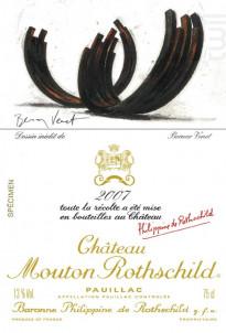 Château Mouton Rothschild - Château Mouton Rothschild - 2007 - Rouge