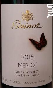 Merlot - Maison Guinot depuis 1875 - 2017 - Rouge