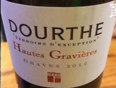 Hautes Gravières - Dourthe - 2015 - Rouge
