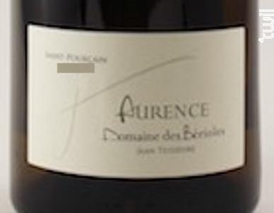 Aurence - Domaine Des Bérioles - 2016 - Blanc
