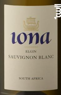WALKER BAY Sauvignon blanc - Iona - 2012 - Blanc