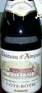Château d'Ampuis - Maison Guigal - 2013 - Rouge