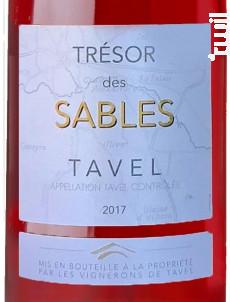 Trésor des Sables - Les Vignerons de Tavel & Lirac - 2018 - Rosé