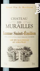 Château les Murailles - Maison Le Star - Château Les Murailles - 2016 - Rouge