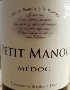 Petit Manou - Vignoble Clos Manou - 2014 - Rouge