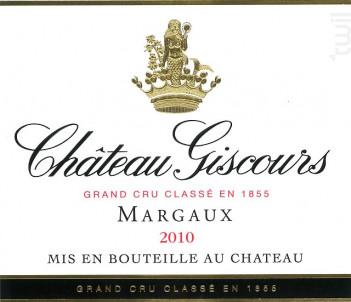 Château Giscours - Château Giscours - 2010 - Rouge
