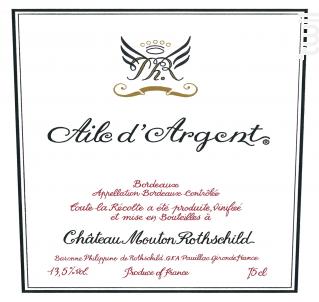 AILE D'ARGENT - Château Mouton Rothschild - 2017 - Blanc