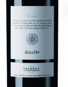 Scala Dei Dei Prior - Scala Dei - 2016 - Rouge