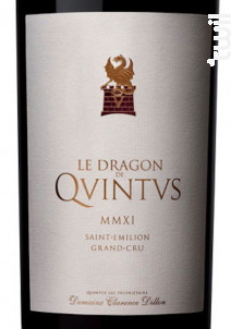 Le Dragon de Quintus - Château Quintus - 2016 - Rouge