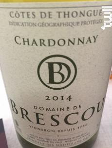 Chardonnay - Domaine de Brescou - 2016 - Blanc
