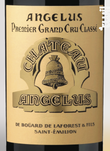 Château Angélus - Château Angélus - 2020 - Rouge