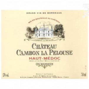 Château Cambon La Pelouse - Château Cambon la Pelouse - 2014 - Rouge