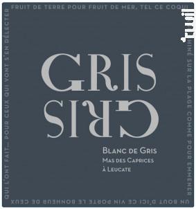 Gris Gris (Blanc de Gris) - Mas des Caprices - 2019 - Blanc