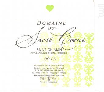 Saint Chinian - Domaine du Sacré Coeur - 2018 - Blanc