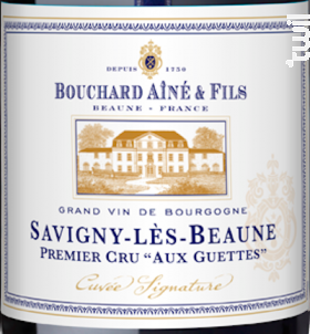 Savigny-lès-Beaune Premier Cru Aux Guettes - Bouchard Aîné et Fils - 2012 - Rouge