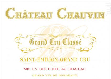 Château Chauvin - Château Chauvin - 2012 - Rouge