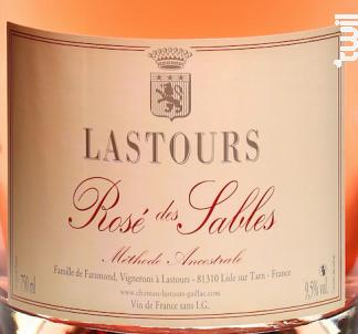 Château Lastours - Méthodes Ancestrale Rosé - Château Lastours - Non millésimé - Effervescent