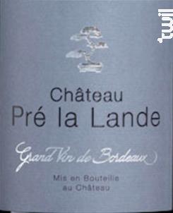 Terra Cotta - Château Pré La Lande - 2017 - Rouge