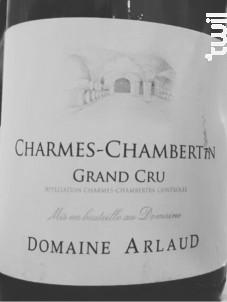 Charmes-Chambertin Grand Cru - Domaine Arlaud - 2016 - Rouge