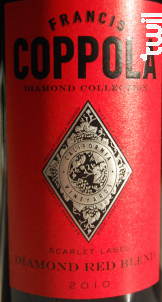Diamond collection red blend - FRANCIS FORD COPPOLA WINERY - 2015 - Rouge