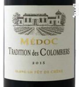 Tradition des Colombiers - Vignerons d'Uni-Médoc - 2015 - Rouge